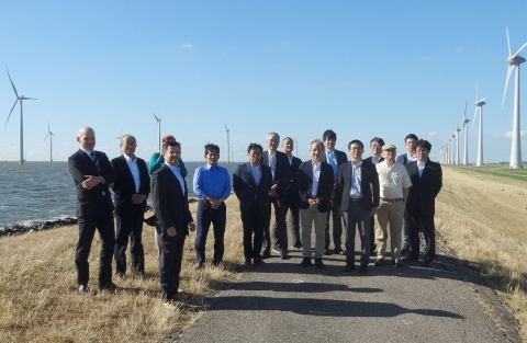 News: Excursion to Westermeer Wind farm with RIOE